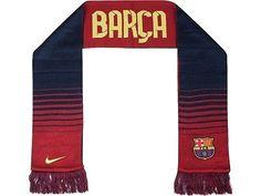 NIKE FC BARCELONA TEAM REVERSIBLE SCARF FOOTBALL SPAIN 2013/14.