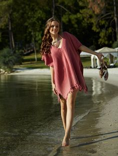 Fashionable and chic beach cover up dress with a beautiful color. New trend for summer beach dresses 2017. Your Fabulous Beachwear Style!