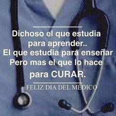 Feliz día a todos los #médicos menos a los que ignoran el #juramentohipocrático. A esos no... #DíaDelMédico #ElAquelarre #felicitaciones #servir #salud #bruja #brujas #brujareal #venezuela Medicine Quotes, Fight For Your Dreams, Doctors Day, Medical Anatomy, Med Student, Nurse Life, Study Motivation, Medical School, Some Words