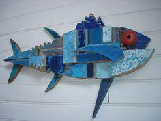 Jean-René PETIBON, sculpteur sur bois d'épaves   sculpture-assemblage-recyclage