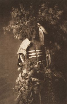 Ready for Okipe Buffalo Dance - Mandan (The North American Indian, v. V. Cambridge, MA: The University Press, 1909)     by Edward Sheriff Curtis from USC Digital Library, no name or location