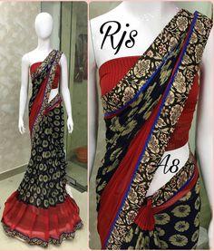 Silk Cotton Sarees, Organza Saree, Chiffon Saree, Georgette Sarees, Punjabi Fashion, African Fashion, Indian Fashion, Women's Fashion, Indian Clothes