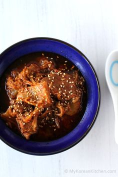 Slow Cooker Kimchi Stew with Beef