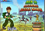 Una Gran colección de Juegos de Ben 10, entra y diviértete Jugando
