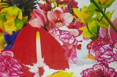 Marc QUINN (born in 1964)  Winter Garden 6, 2004 Color print on paper, numbered 38 / 59 at the bottom, signed, titled and dated on the reverse 32.25 x 48.25 in. – 82 x 122.5 cm.