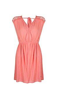 CROCHET TRIM DRESS Crochet Trim, Pretty Dresses, Summer Dresses, Fashion, Moda, Crochet Ornaments, Cute Dresses, Summer Sundresses, Fashion Styles