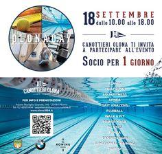 #Olonaday: socio per un giorno | Olona 1894 #fitness #rowing #tennis #swimming #aquafitness #running #triathlon #sport #club #wellness