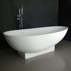 "pedestal tubs freestanding | Ruth 71"" Soaking Bathtub with Integrated Pedestal 