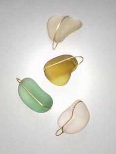 bijoux verre dépoli Plus