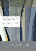 Milena Kafol »MUNDUS, MUNDI« http://efnet.si/2015/10/milena-kafol-mundus-mundi/