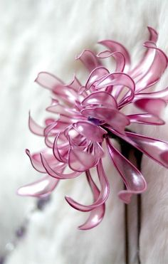 plastic flower art 19