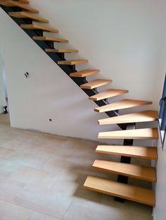 Incredible Stairs Design Ideas Para o sótão tentar - Interior Design - Escadas Home Stairs Design, Interior Stairs, Interior Design Living Room, House Design, Stair Design, Steel Stairs, Loft Stairs, House Stairs, Stairs For Attic