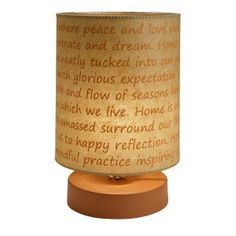 Poetic Thoughts Mood Lamp