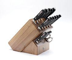 KaiserBlock by ZWILLING, il ceppo più completo della Ditta tedesca Zwilling Hencckels. Contiene i coltelli forgiati PROFESSIONAL :