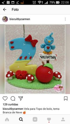 Number 2 Cakes, Fondant Numbers, Fondant Toppers, Clay Animals, Biscuits, Polymer Clay, Frozen, Kids Rugs, Candles
