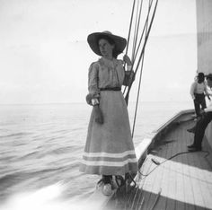 Cat Island trip, Lucy, by Alexander Allison, 1899