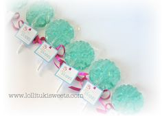 A personal favorite from my Etsy shop https://www.etsy.com/listing/267636061/12-dozen-xlarge-snowflake-lollipops-tags