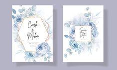 Beautiful Wedding Invitations, Floral Wedding Invitations, Wedding Invitation Templates, Elegant, Frame, Classy, Picture Frame, Wedding Invitation Design, Frames