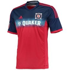 099111700 Chicago Fire Home Shirt 2014 15 2 Tone - Available from Kitbag.com Soccer