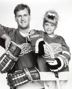 Uncle Joey and Michelle as WING FANS. Obvs.