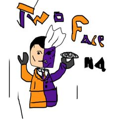 Lego Marvel Two Face