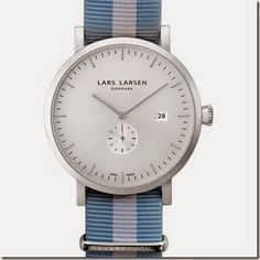bb3200870ac Lars Larsen Sebastian Steel Empresas De Relógios De Pulso