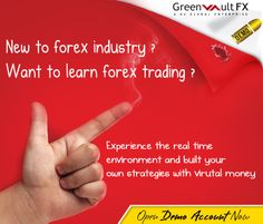 New to #forex #trading?  Our free Demo Account is here for you to practice risk free #trade. Open Greenvault #FX demo account today at no cost on world class #MT4 platform accessing all the tools and signals. Convert anytime into Live account.
