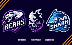 Game Logo Design, Logo Design Services, Custom Logo Design, Logo Branding, Branding Ideas, Logo Ideas, Top Graphic Designers, Gaming Logo, Esports Logo