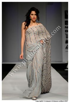 Gauri Bajorias saree    designer saree