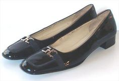 Ferragamo Black Designer Shoes  $49.00
