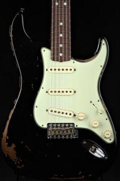Guitars Gibson, Fender, Guild, Martin, Vintage - Gbase for musicians Fender Custom Shop, Custom Guitars, Fender Stratocaster, Fender Vintage, Shops, String Art, Gears, Steel, Music