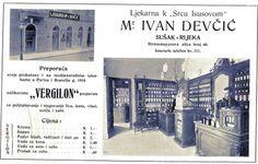 "Sušak - 1930-tih - reklama - Ljekarna ""Devčić"""