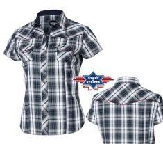 Chemises femmes pas cher et chemises homme style Western. chemisier country  ... 0f0b1f76b88