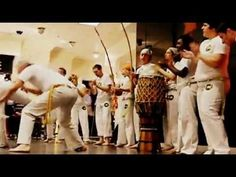 Omulu Capoeira Guanabara demostration at Macy's in Downtown Minneapolis 4.6.12