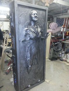 custom carbonite encasing