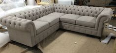 """""""Kenzie"""" Sofa/Loveseat Sectional - Every style can be customized in virtually any way possible! www.MonarchSofas.com More custom pieces on our Houzz profile! http://www.houzz.com/pro/thesofaworks/monarch-sofas"""