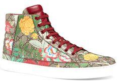 Вещь дня: кеды Gucci с цветами и птицами