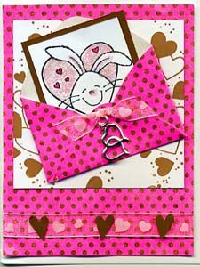 Bunny Love Card, Stamps, & DIY Directions from GreatImpressionsStamps.com