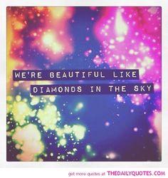 We're Beautiful…….