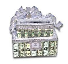 Gift Table Wedding, Card Box Wedding, Wedding Ceremony, Redneck Weddings, Vegas Weddings, Bling Wedding, Red Wedding, Wedding Ideas, Graduation Card Boxes