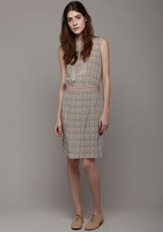 Printed Vanessa Dress by Joseph