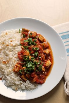Ready for a quick and easy supper? This Chicken Tikka Masala is so simple to make, and it's packed with flavor from the tomato and Indian spices.