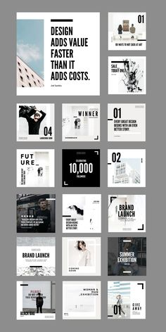 $25.00 · Do more with less. The Minimalist Social Feed Template is a set of 30 crisp, simple designs aimed at giving your brand a sleek, uniform aesthetic that your audience is sure to remember. Easily generate on-brand social posts using these stark, minimal, fully-customizable Canva Templates. WHAT'S INCLUDED:30 square (1080 x 1080px) Social Feed Canva Templates| Free stock Images already edited with Cultive Presets | Step by step installation instructions | Customer Support from our team Social Media Branding, Business Branding, Instagram Feed, Instagram Posts, Instagram Post Template, Story Template, Installation Instructions, Templates Free, Customer Support