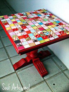 """""""Mosaico"""" de tecido"""