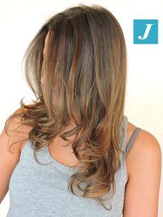 Illuminare il colore naturale #cdj #degradejoelle #tagliopuntearia #degradé #igers #musthave #hair #hairstyle #haircolour #longhair #ootd #hairfashion #madeinitaly #wellastudionyc