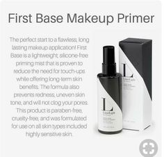 LimeLight First Base Makeup Primer - Don't skip this step in your daily makeup routine! Makeup Finishing Spray, Alcone Makeup, Lime Light By Alcone, Long Lasting Makeup, Makeup Primer, Makeup Tips, Makeup Ideas, All Natural Skin Care, Uneven Skin Tone