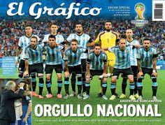 Selección Nacional de Argentina subcampeona - FIFA Mundial de Futbol Brasil 2014