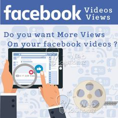 Facebook Video Views determine the popularity of your Facebook video. We provide the best Facebook marketing solution to gain Facebook video Views.