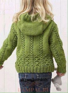 Crochet Sweater Pattern Kids Cardigans 67 Ideas For 2019 Baby Cardigan Knitting Pattern Free, Aran Knitting Patterns, Baby Sweater Patterns, Knit Baby Sweaters, Girls Sweaters, Crochet Patterns, Knitted Baby Cardigan, Hoodie Pattern, Sewing Patterns