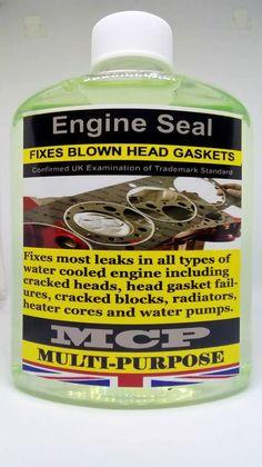 STEEL SEAL HEAD GASKET SEALER WRAPPED BLOWN HEAD GASKET&ENGINE BLOCKS,10 Bottles #MCP